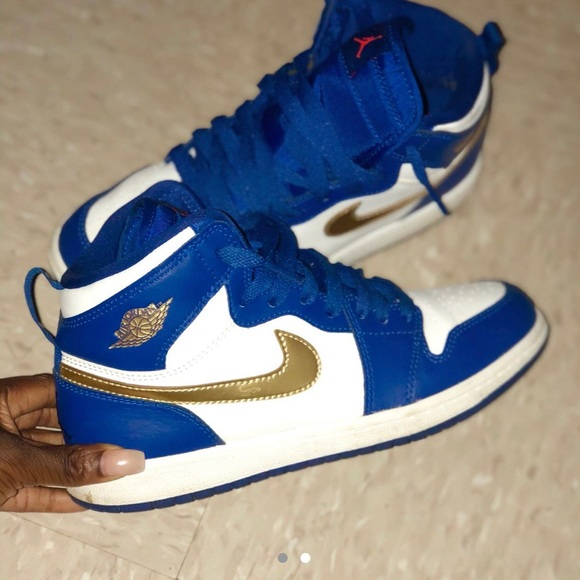 e10326a8237 Jordan Shoes | Air 1 Retro High Gold Medal | Poshmark